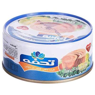 کنسرو ماهی هوور با روغن کانولا 170 گرمی با درب آسان باز شو تحفه