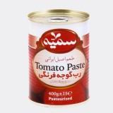 رب گوجه فرنگی 400 گرمی آسان بازشو سمیه
