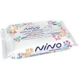 دستمال مرطوب آرایشی 20 عددی نینو