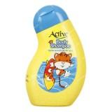 شامپو بدن شفاف بچه 250 گرمي زرد اکتيو