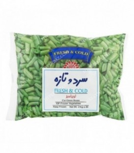 لوبیا سبز منجمد 500 گرمی سرد و تازه