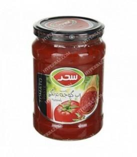 رب گوجه فرنگی شیشه ای 680 گرمی سحر