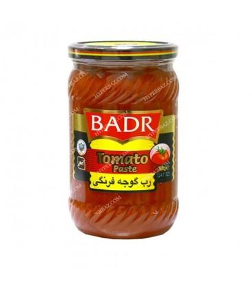 رب گوجه فرنگی شیشه 650 گرمی بدر