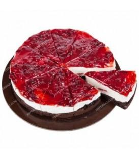 چیز کیک آلبالویی قطر 25
