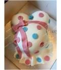 کیک تعیین جنسیت طرح مادرانه