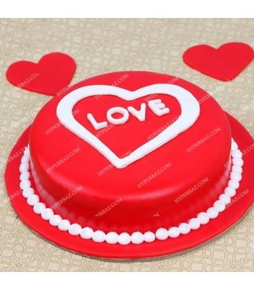 کیک تولد طرح ردهارت
