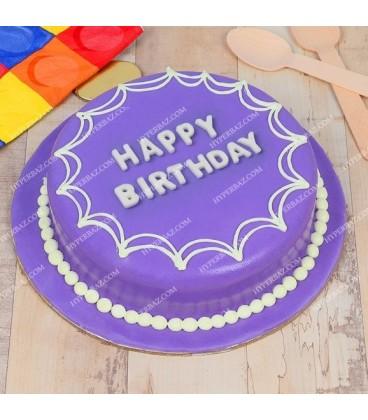 کیک تولد طرح شاداب