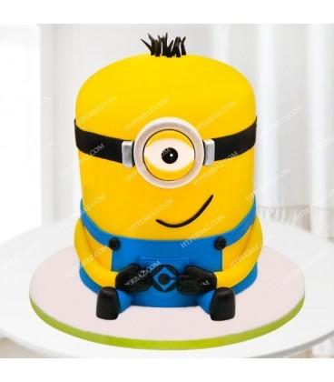 کیک تولد طرح مینیون 1