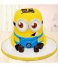 کیک تولد طرح مینیون 2