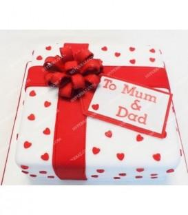 کیک سالگرد ازدواج 1