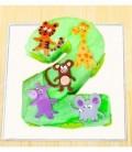 کیک شماره 2 طرح حیوانات جنگل