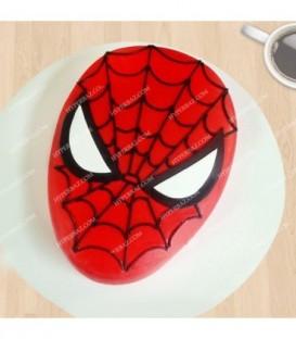کیک طرح اسپایدر من