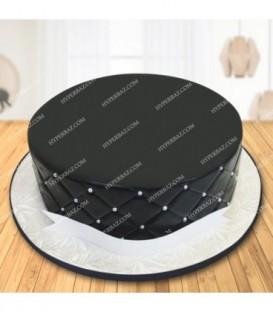 کیک طرح الماس سیاه
