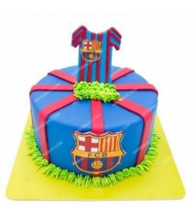 کیک طرح بارسا