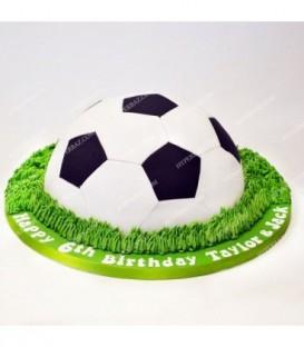 کیک طرح توپ فوتبال