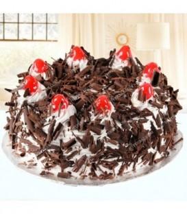 کیک طرح جنگل سیاه
