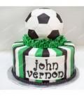 کیک فوتبالی طرح 1