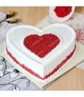 کیک قلب طرح ولنتاین