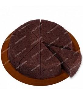 کیک کافی شاپی پودر شکلاتی