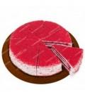 کیک کافی شاپی ردولوت قطر 25