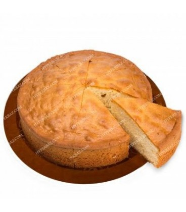 کیک کافی شاپی ساده قطر 25