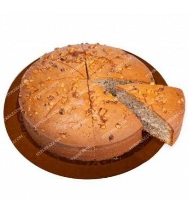کیک کافی شاپی گردویی قطر 25