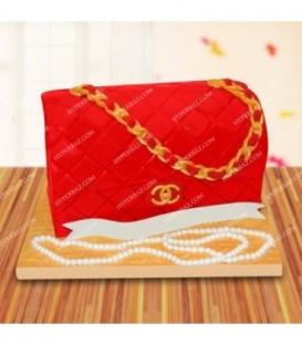 کیک لاکچری طرح کیف
