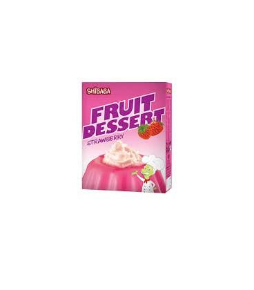 دسر میوه ای توت فرنگی شیبا
