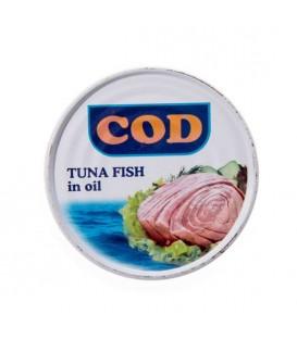 کنسرو تن ماهی 180 گرمی کاد