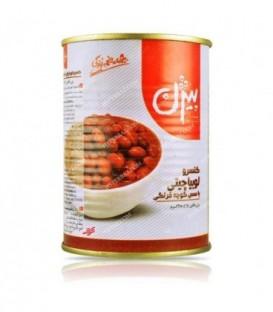 کنسرو لوبیا چیتی با سس گوجه فرنگی 380 گرمی بیژن