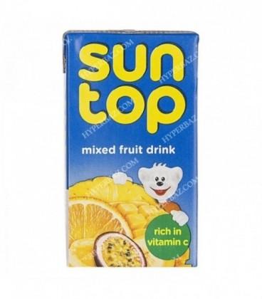 نوشیدنی میوه های مخلوط 125 میلی لیتری سان تاپ