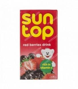 نوشیدنی میوه های قرمز 125 میلی لیتری سان تاپ