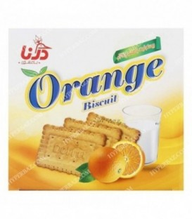 بیسکویت پرتقالی 600 گرمی درنا
