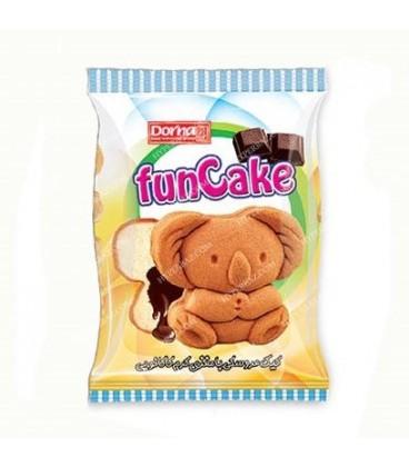 فان کیک عروسکی شکلاتی 40 گرمی درنا