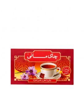 چای کیسه ای 20 عددی زعفرانی مانی