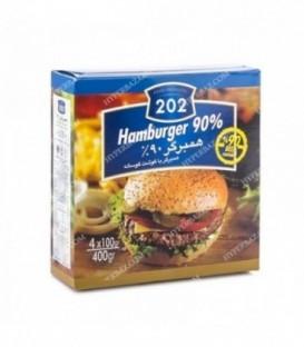 همبرگر 90% 202