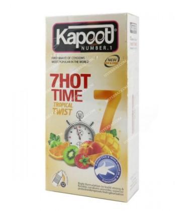 کاندوم 7 کاره تاخیری تحریکی گرم کاپوت