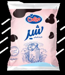 شیر نایلونی کم چرب 800 گرمی میهن