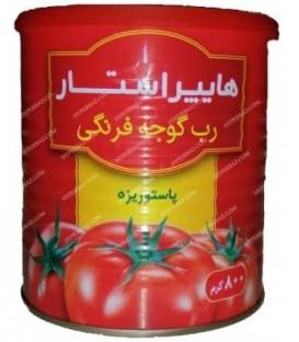 رب گوجه فرنگی 800 گرمی هایپراستار