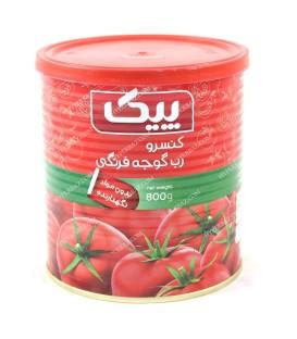 رب گوجه فرنگی 800 گرمی پیک