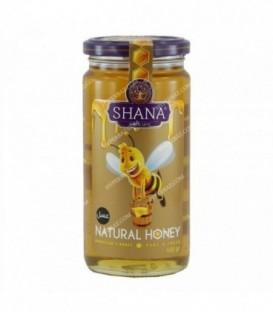 عسل بدون موم ظرف شیشه ای 600 گرمی شانا