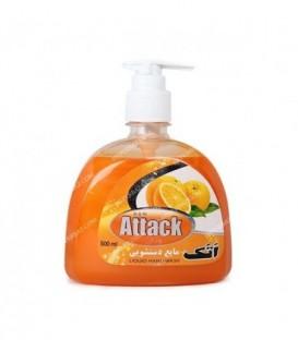 مایع دست شویی غلیظ 500 سی سی صدفی پرتقال قهرمان