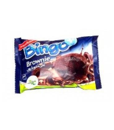 کيک براوني غني شده با روي بينگو