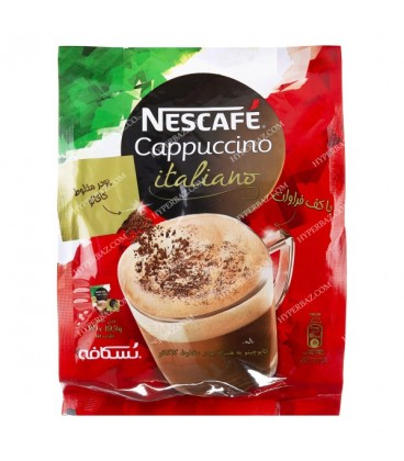 کاپوچینو به همراه پودر مخلوط کاکائو نسکافه 20 عددی نستله