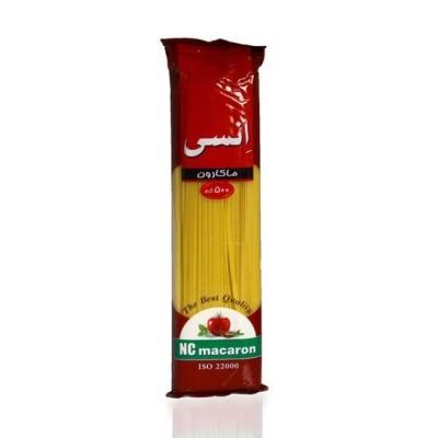 اسپاگتی 500 گرمی قرمز انسی