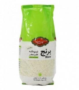 برنج ایرانی نیم دانه طارم یک کيلوگرمي گلستان
