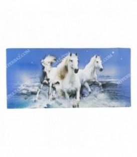 دستمال کاغذی گلدار اسب دو لایه 100 برگ گلپر