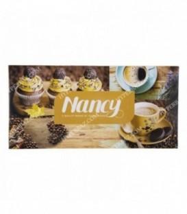 دستمال کاغذي 100 برگ دو لايه نانسي
