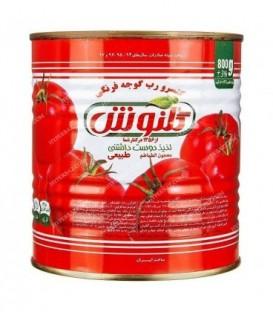 رب گوجه فرنگی 820 گرمی با درب آسان باز شو گلنوش