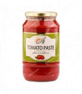 رب گوجه فرنگی شیشه 1100 گرمی تک